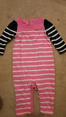 sz 3-6 Baby Gap pink One piece outfit