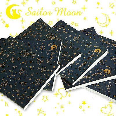 Sailor Moon Logo Memo 20th Diary Journal Paper Notebook Collection Drawing