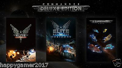 Elite Dangerous: Commander Deluxe Edition - PC Global Play Not Key/Code