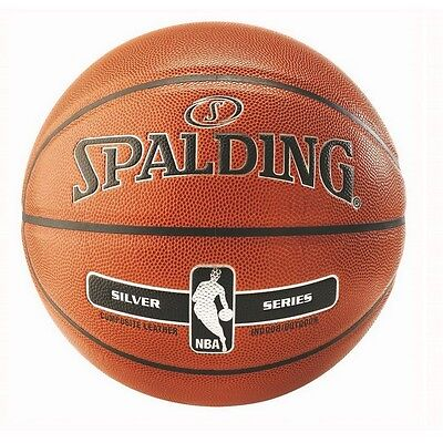 Ballon NBA Spalding Silver Indoor / Outdoor 2017 Taille 7