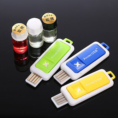 Mini USB Car Auto Aromatherapy Diffuser Humidifiers Essential Oil Home