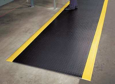 Antifatigue Runner,Black,YllwBrdr,3x12ft NOTRAX 419S0312BY