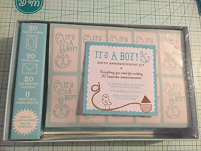 It's a Boy! Kit : Birth Announcement by Chronicle Books Staff and Inc. Staff Cos