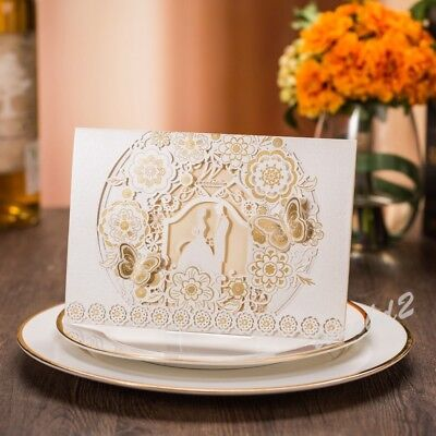 Personalized Luxury Wedding Invitation Card Free Envelope Marriage Party Supply
