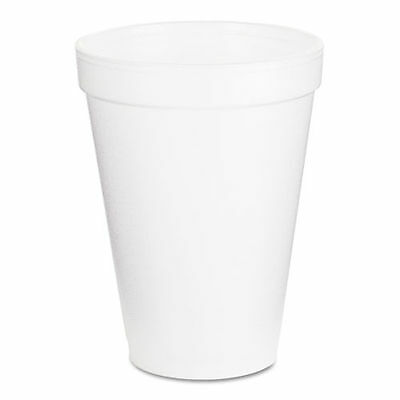 White Styrofoam Cups- Dart 12oz *Pick Qty *1, 50, 100, 250, 500, or 1000* (3958)