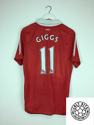 Manchester United GIGGS #11 10/11 Home Football Shirt (M) Soccer Jersey