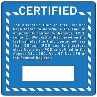 Chemical Label,6 In. H,6 In. W,PK100 BRADY G97LS