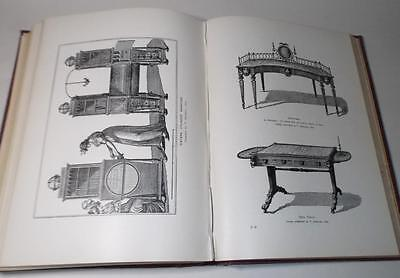 Antique HISTORY of FURNITURE book, Litchfield 1907, 350+ illustrations