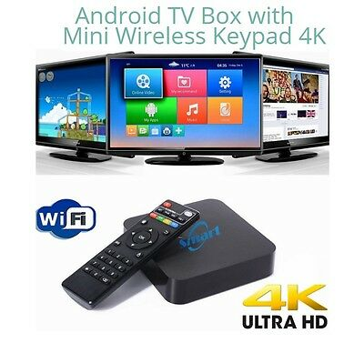 Pre-Loaded Android TV Box with Remote