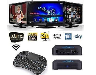 Pre-Loaded Android TV Box with Mini Wireless Keypad / Mouse