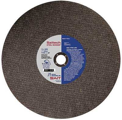 UNITED ABRASIVES-SAIT 24053 Abrasive Cut-Off Wheel, 14 In. Dia.