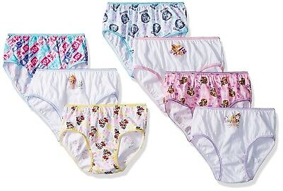 Paw Patrol Girls' Pups 7 Pack Panty