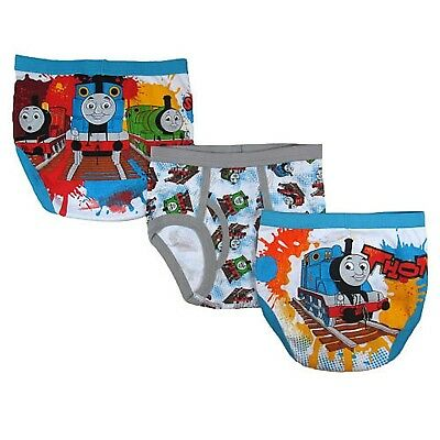 Thomas the Tank Engine and Friends 3 pack Toddler Boys Briefs for boys (2T-3T)