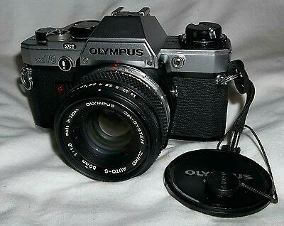 Olympus OM-10 with Zuiko 50mm f1.8