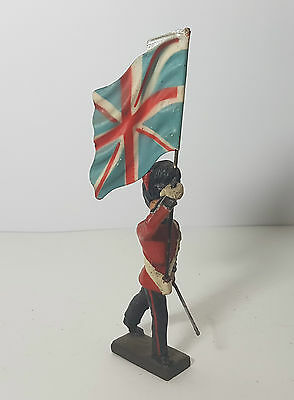 Lineol 7,5cm Coldstream flag-bearer (no Elastolin)