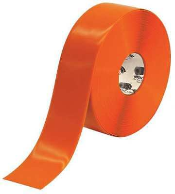 MIGHTYLINE 3RO Industrial Floor Tape, Roll, Orange, Vinyl