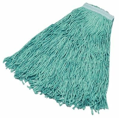 RUBBERMAID FGF13200GR00 Hot Mop 4-Ply Cotton/Rayon/Synthetic Blend Yarn Wet