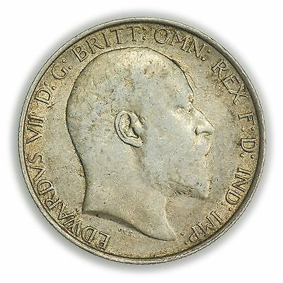 Great Britain KM#801 1908 Florin Coin, Edward VII [3127.41]