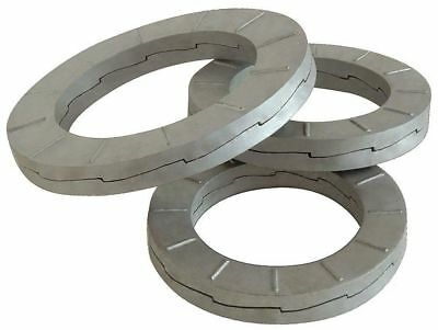 38mm x 55.8 mm OD Carbon Steel Delta Protect Finish Wedge Lock Washers, 25 pk.