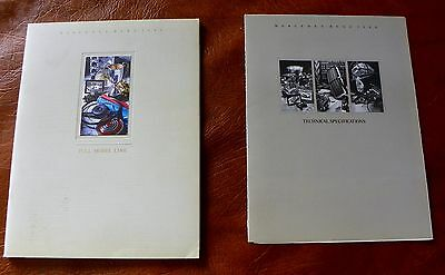 1988 Mercedes Benz Full Model Line Sales Brochure plus technical specifications