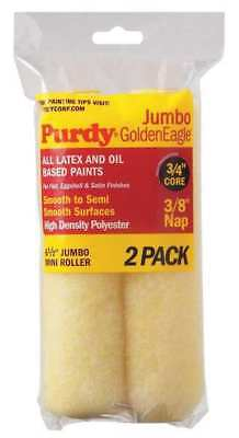 PURDY 140626022 Mini Paint Roller Cover,6-1/2 In,PK2