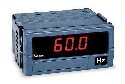 Frequency Digital Panel Meter, Simpson Electric, F35-1-91-0