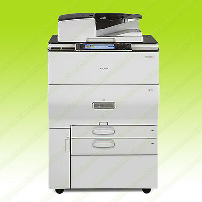 Ricoh MP C6502 Color Tabloid Copier Printer Scanner All-in-One Aficio 65PPM