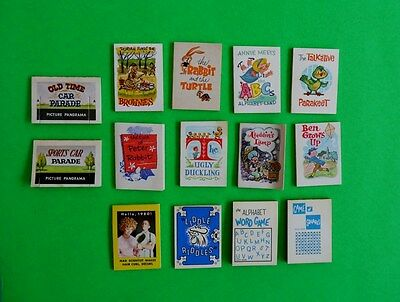 1960s CRACKERJACK GAME AND STORY BOOKLET LOT (14)   **NICE**