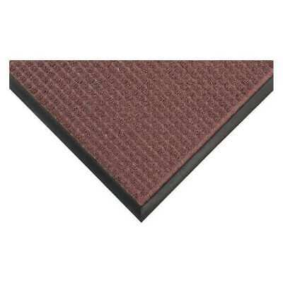 Carpeted Entrance Mat,Burgundy,4ft.x8ft. CONDOR 36VK10