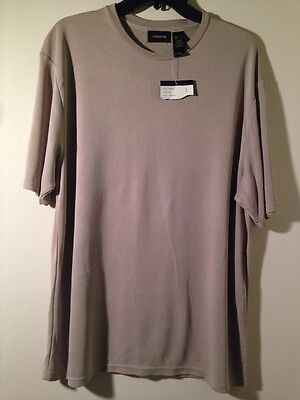 NWT Women's Claiborne PullOver Short Sleeve Shirt Size L Green