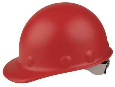 FIBRE-METAL BY HONEYWELL P2HNRW15A000 Hard Hat,Front Brim,G,Ratchet,Red