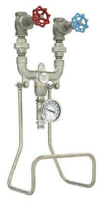 Hose Station,3/4 In,SS/Brass,25 In L