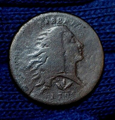 1793 LARGE CENT-Wreath Variety**VERY GOOD