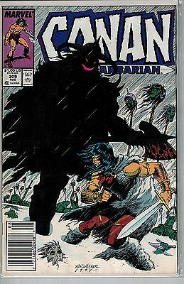 Conan The Barbarian - 209 - Marvel - August 1988