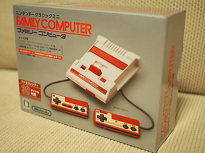 Nintendo Classic Mini Famicom FC Console Game Unused Shipping Free in stock