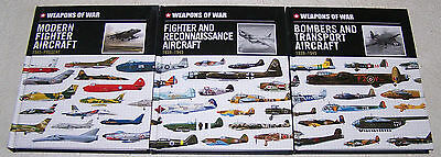 Weapons of War Lot of 3 Hardcover Books by Michael Spilling c.2013