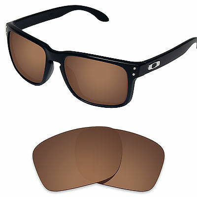 Tintart Polarized Replacement Lens for-Oakley Holbrook Sunglass Nut Brown (STD)