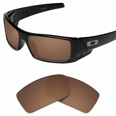 Tintart Polarized Replacement Lenses for-Oakley Gascan Sunglass Nut Brown (STD)