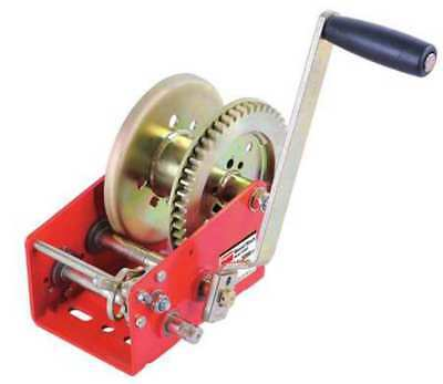 DAYTON 12U363 Ratcheting Winch,Spur,No Brake,3200 lb.