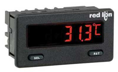RED LION CUB5TCB0 Thermocouple Meter w/Red/Green Backlight