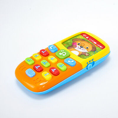 Kids Learning Study Musical Flip Phone Toys for Baby Sound Learning Educational