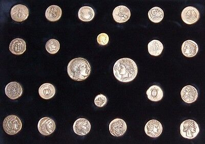 Rare Silver Gold Ancient Greek Coin COPIES - Classy Gift