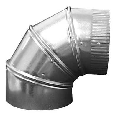 "Ductmate 7"" 90 Deg. Elbow Round Duct Fitting, 26 ga., GRAE790GA26"
