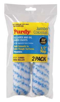 PURDY 140626033 Mini Paint Roller Cover,6-1/2 In,PK2
