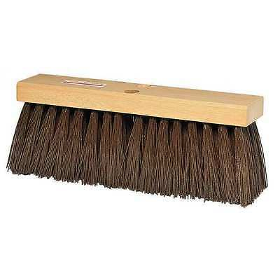 Tough Guy Brown Polypropylene Heavy Duty Push Broom, 3A325