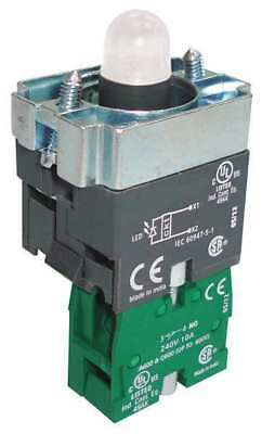 DAYTON 30G179 Lamp Module and Contact Block, 22mm, 1NO