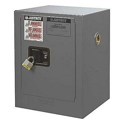 Flammable Liquid Safety Cabinet, Gray ,Justrite, 890403