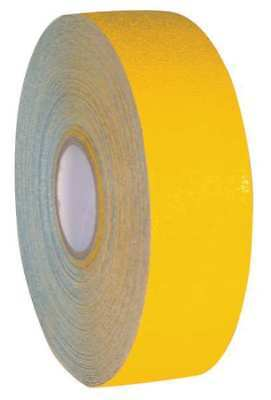 ARMADILLO TAPE ARM310 Floor Tape, Yellow, Solid, 3 in x 108 ft