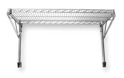 Wall Mounted Wire Shelving, Natural , 2HGG2