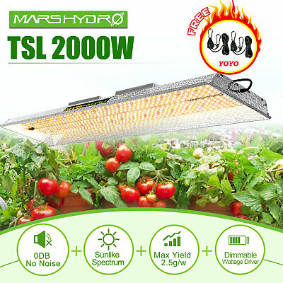 Mars 300W LED Grow Light  Full Spectrum Hydroponics+27x27x63Grow Tent Greenhouse